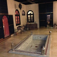 Photo taken at Riad Yacout by João P. on 3/10/2013