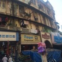 Photo taken at Bhendi Bazaar by Paras R. on 12/3/2014