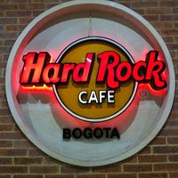 Photo taken at Hard Rock Cafe Bogota by Jaime G. on 10/21/2012