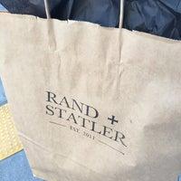 Photo taken at Rand + Statler by Takashi on 10/22/2016
