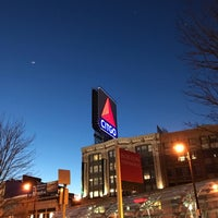 Photo taken at Kenmore Square by Prakash W. on 4/14/2017