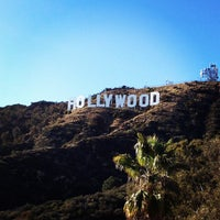 Photo taken at Hollywood Sign Vista Point by Jake L. on 4/18/2013