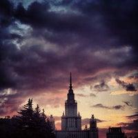 Photo taken at Lomonosov Moscow State University (MSU) by z. on 6/7/2013