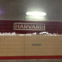 Photo taken at MBTA Harvard Station by Jim B. on 2/20/2013