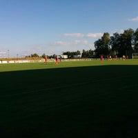 Photo taken at Fotbalový stadion Nové Strašecí by Martin K. on 9/27/2014
