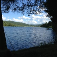Photo taken at Quaker Lake by Ed G. on 8/23/2013