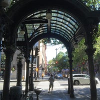 Photo taken at Pioneer Square Pergola by Marc M. on 6/28/2016