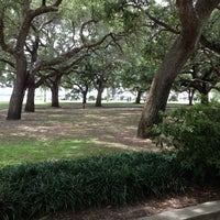 Photo taken at White Point Gardens by Brooke A. on 6/24/2012