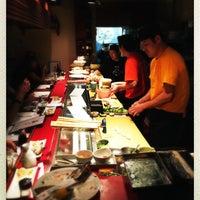 Photo taken at Iroha Sushi of Tokyo by Arriman on 1/21/2016