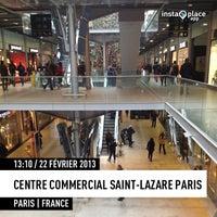 Снимок сделан в C.C Saint-Lazare Paris пользователем Tto S. 2/22/2013