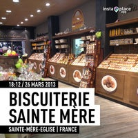 Photo taken at Biscuiterie Sainte Mère Eglise by Tto S. on 3/26/2013