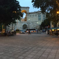 Photo taken at Piazza Costituzione by Tto S. on 9/3/2017
