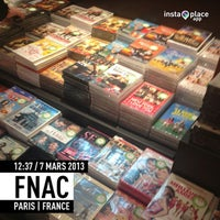 Photo taken at Fnac by Tto S. on 3/7/2013
