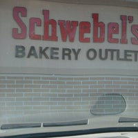 Photo taken at Schwebel's Bakery Outlet by Shawn B. on 9/15/2012