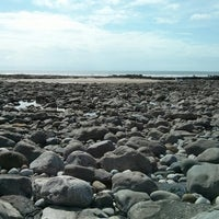 Photo taken at Porthcawl Beach by Samuel S. on 8/20/2013
