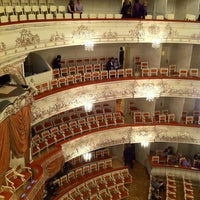 Снимок сделан в Михайловский театр пользователем Мария Л. 3/23/2013