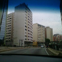 Photo taken at Avenida Rio Branco by Cris M. on 11/24/2012