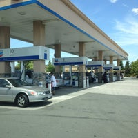 Photo taken at Chevron by Susan L. on 6/9/2013