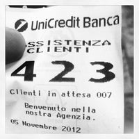 Photo taken at Unicredit Banca by Andrea P. on 11/5/2012