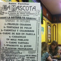 Photo taken at La Mascota by Gerardo R. on 10/19/2013