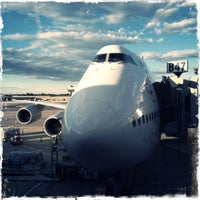 Photo taken at Lufthansa Flight LH 419 by Lukas L. on 10/20/2012