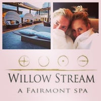 Photo taken at Willow Stream Spa by Jeanine T. on 10/28/2013