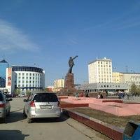 Photo taken at Площадь Ленина by Виктория З. on 5/20/2013