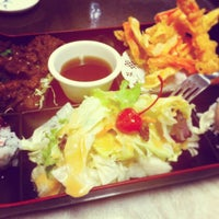 Photo taken at Kyoto Sushi Cafe by CC W. on 1/6/2013