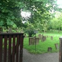 Photo taken at Alter Jüdischer Friedhof by Karina J. on 5/3/2014