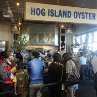 Photo taken at Hog Island Oyster Co. by Simon L. on 6/8/2013