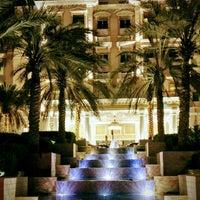 Photo taken at The Westin Dubai Mina Seyahi Beach Resort & Marina by Michael B. on 4/25/2017