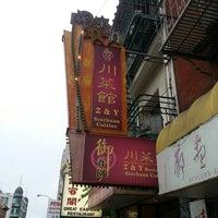 Photo taken at Z & Y Restaurant by 임성수 on 7/12/2013