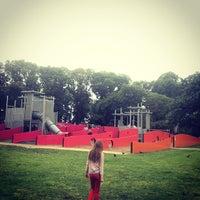 Photo taken at Carlton Gardens' Playground by SHOPSUI by Sylvia Tai on 3/23/2014