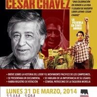 Photo taken at Centro de Trabajadores by César M. on 3/31/2014