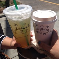 Photo taken at Starbucks by Anna Without The Blonde on 5/24/2014
