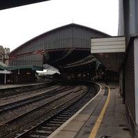 Photo taken at Platform 3 by Jeremy P. on 10/31/2013