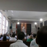 Photo taken at Igreja Adventista Central de Vila Velha by Átila S. on 5/24/2014
