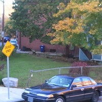 Photo taken at John Eliot Square by Mark S. on 10/21/2012