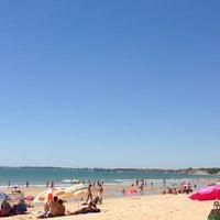 Photo taken at Playa Las Redes by Beeluvd on 7/29/2013