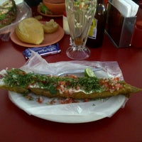 Photo taken at El Primo Pescados Fritos Y Mariscos by jorge a. on 11/30/2012