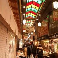 Photo taken at Nishiki Market by Boris A. on 1/5/2013
