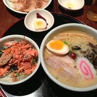 Photo taken at Hokkaido Ramen Santouka 山頭火 by Rachael L. on 12/29/2012