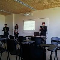 Photo taken at CT+ 102, Universidad Católica de Temuco by Guido Felipe S. on 11/28/2012