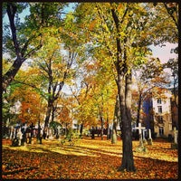 Photo taken at Alter Garnisonsfriedhof by Steve I. on 10/24/2013