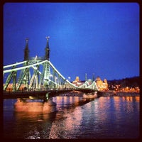 Photo taken at Liberty Bridge by Steve I. on 2/4/2013