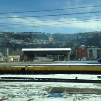 Photo taken at Stazione Domegliara by Gabriele M. on 2/13/2013