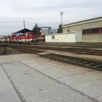 Photo taken at Železničná stanica Prievidza by Štefan Č. on 3/24/2013