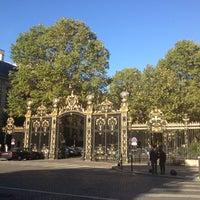 Photo taken at Parc Monceau by Mareta D. on 9/30/2012