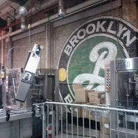 Photo taken at Brooklyn Brewery by Nati R. on 12/20/2012