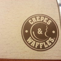 Photo taken at Crepes & Waffles by José Zamir O. on 2/8/2013